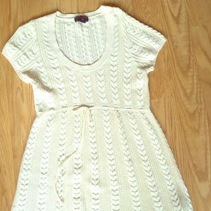 Vintage Ralph Lauren baby doll knit dress
